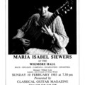 06 Maria Isabel Siewers at the Wigmore Hall 10-02-85.jpg